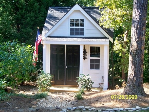 Plans for garden shed with porch useful Shed with screened porch