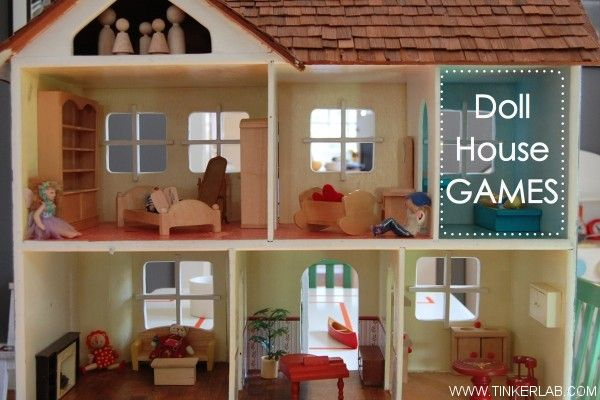 Do your kids have a dollhouse? This is full of ideas for doll house play + ideas for making low-cost, unexpected doll houses.