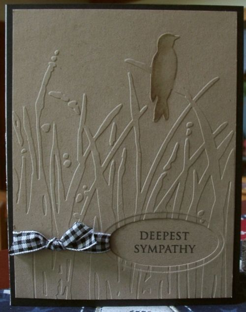 sympathy card (or thinking of you)