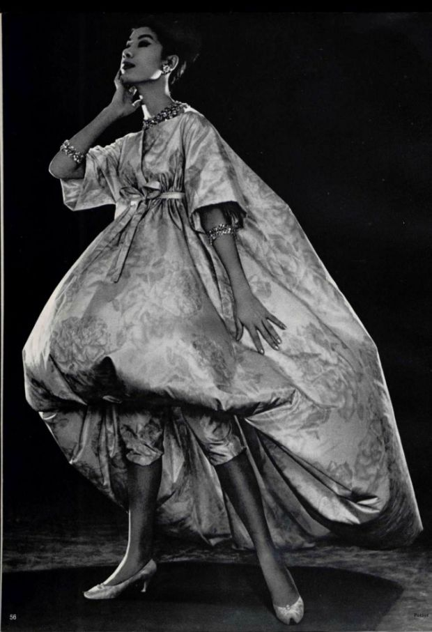Haute couture consists of secrets whispe by yves saint for 1960 s haute couture