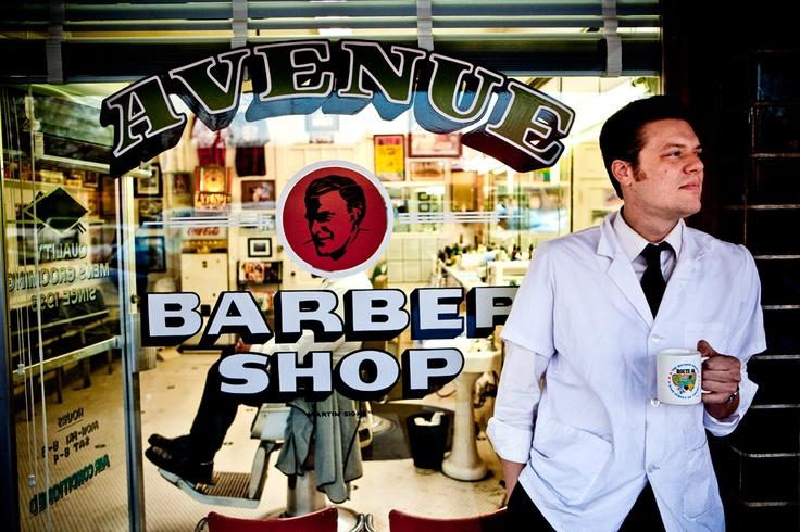 Barber Austin : Avenue Barber Shop- Austin, TX