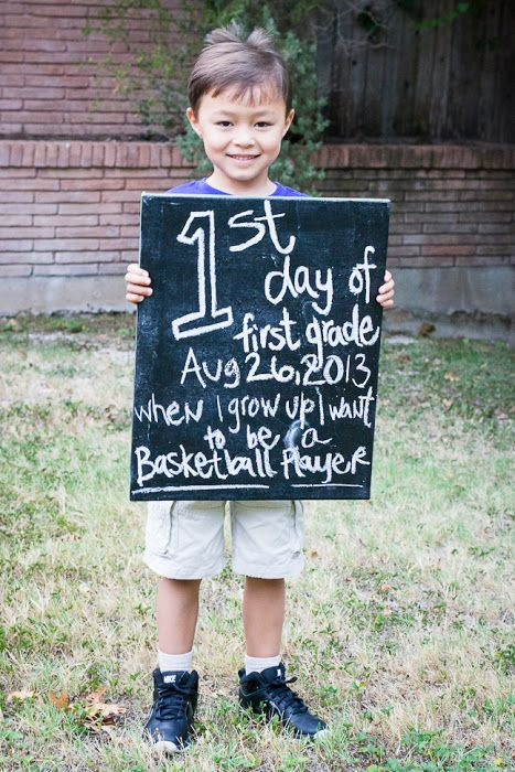 Kennan Family Huddle : First Day of School {First Grade, Kingston}