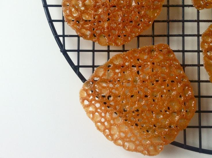 Thin and crispy Brandy Snap Cookies! | Desserts | Pinterest