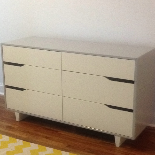 ikea mandal dresser painted grey kids rooms pinterest