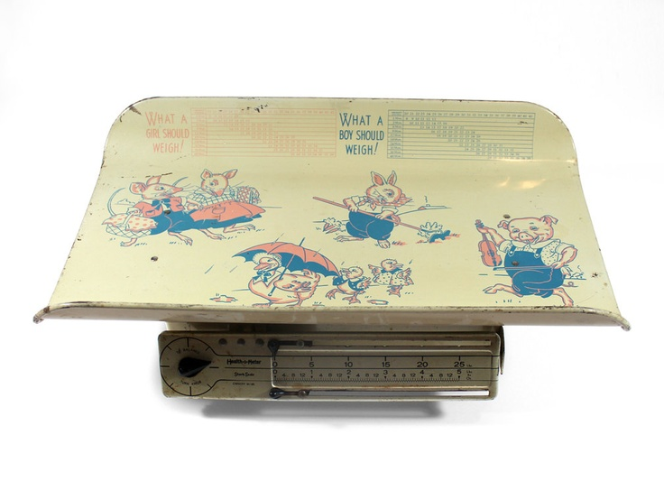 1950's Baby Scale