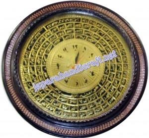 Jam Kaligrafi Asmaul Husna Kuningan | Handicraft | Pinterest