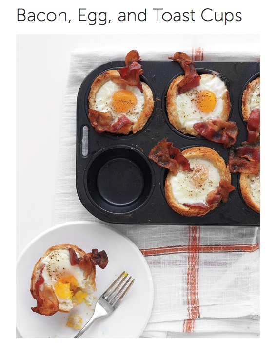 avocado bacon egg and toast cups recipe video martha stewart bacon egg ...