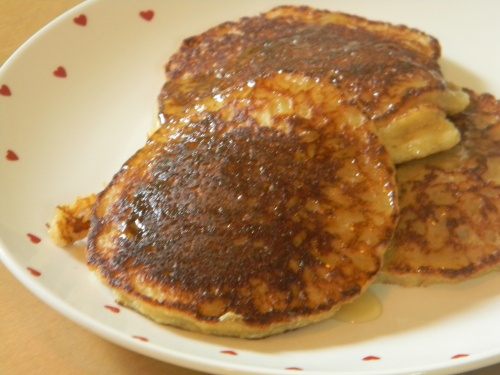 Coconut Macaroon Pancakes | Gluten Free Breakfast | Pinterest