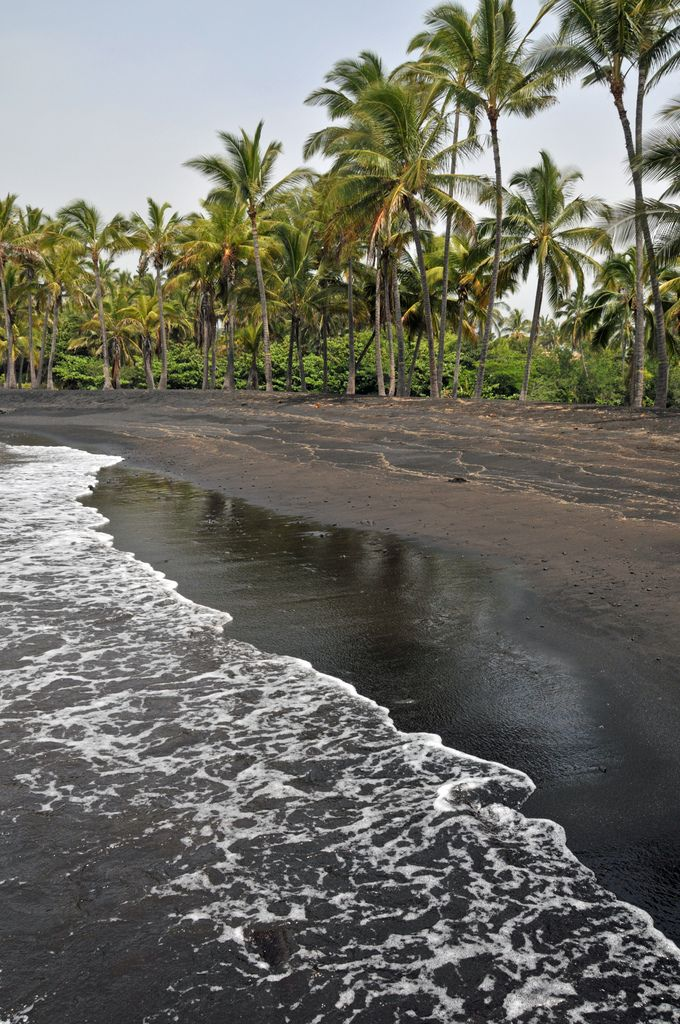 Black sand beach big island hawaii places i d like to Black sand beach hawaii