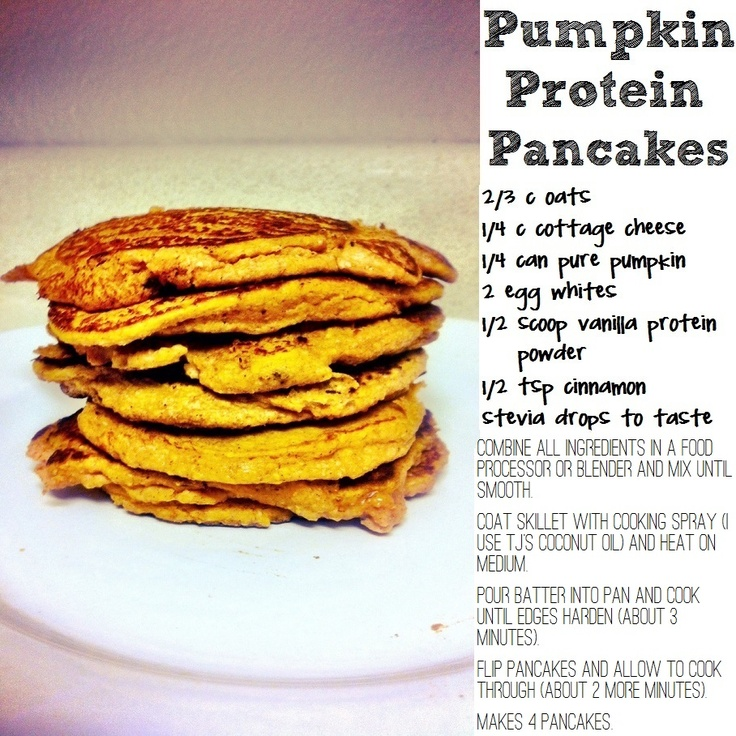Pumpkin Protein Pancakes | Another Foodie | Pinterest