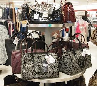 tory bag display