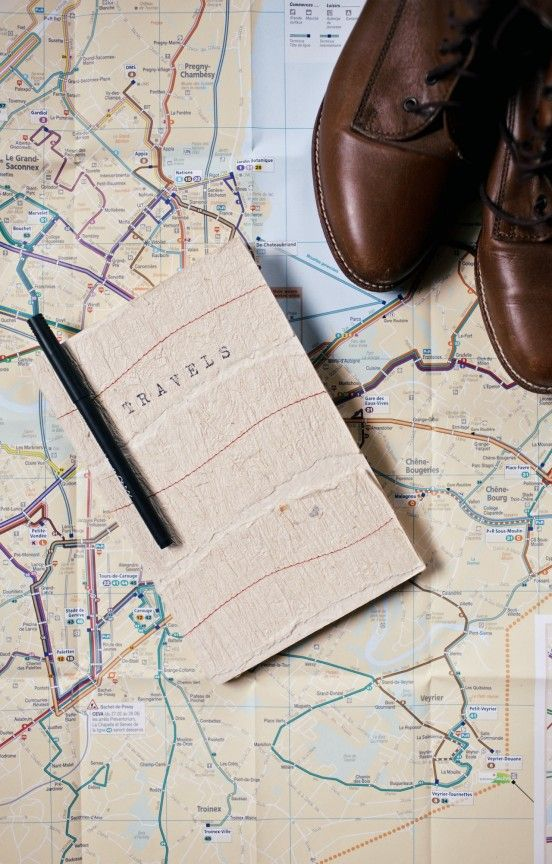 DIY ~ Travel Journal