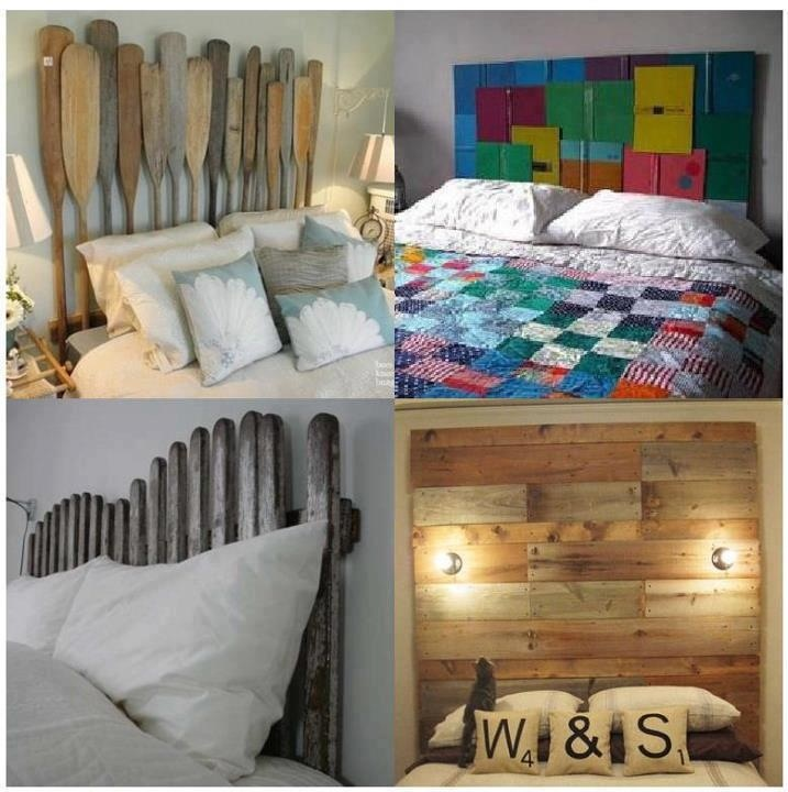 recycled headboards home pinterest
