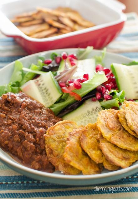 Baked Tostones | Slimming Eats - Slimming World Recipes
