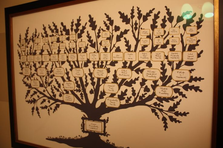 Family Tree Wall Chart Template | Fancy Family Tree