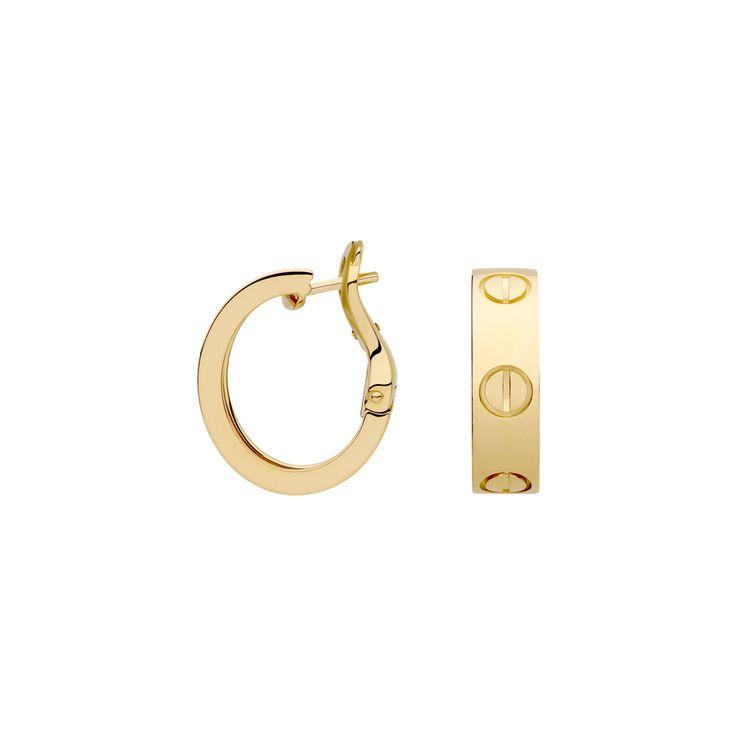 cartier love earrings jewelry box pinterest