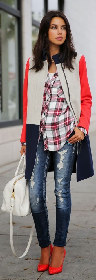 #Red, #White & #Blue by Vivaluxury --How To Become a Professional Fashion Designer and Earn $$$