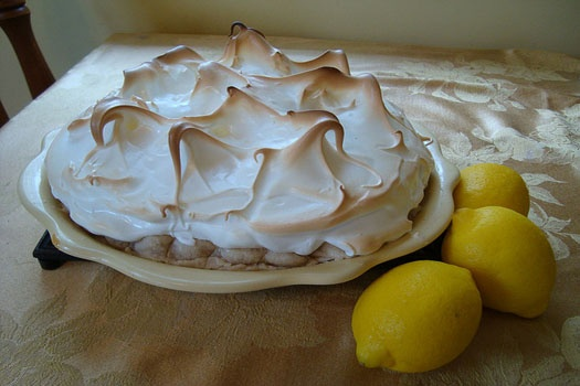 Marshmallow Crispy Lemon Pie Recipes — Dishmaps
