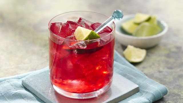 Hibiscus Lime Margarita | Recipe