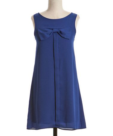 Another great find on #zulily! Royal Bow Midi Dress #zulilyfinds