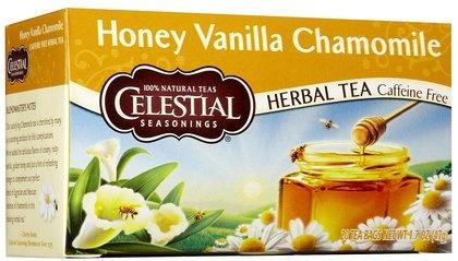 Celestial Seasonings Honey Vanilla Chamomile Tea Bags, 20 ct, 6 pk