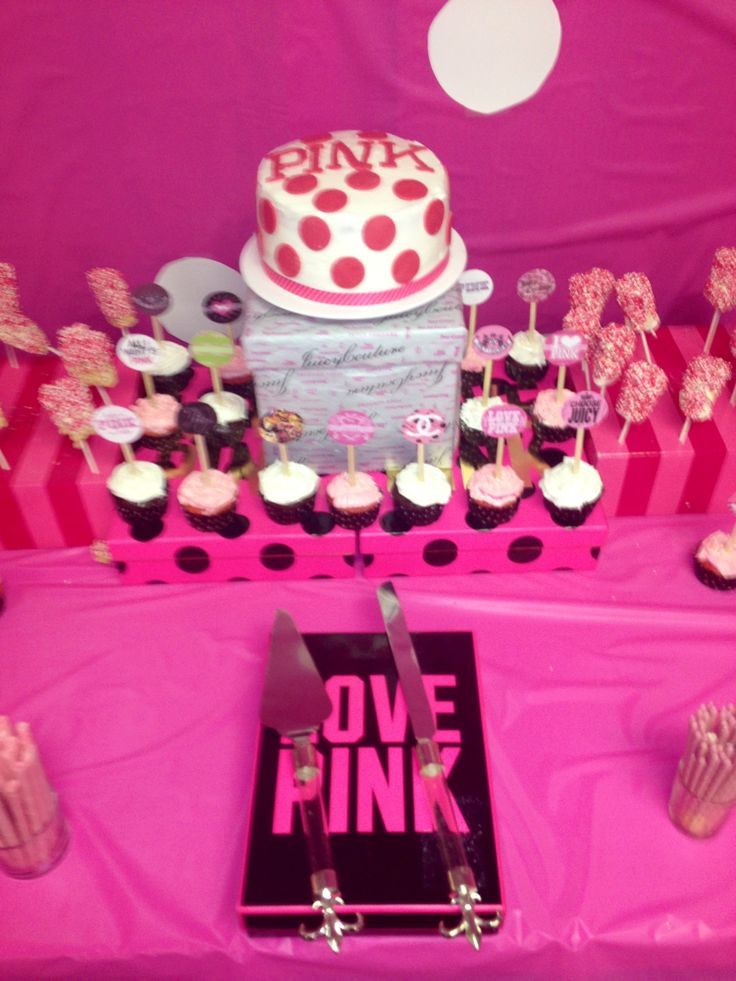 Juicy Couture Dessert Cake Ideas And Designs