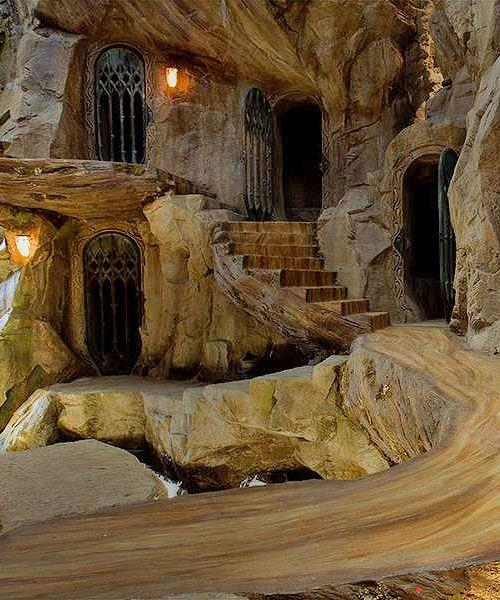 Silvan Elves home