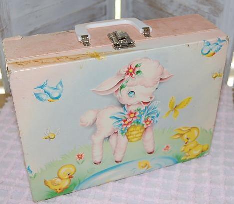 Baby Lamb Suitcase-