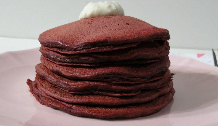 Red Velvet Pancakes | Recipe