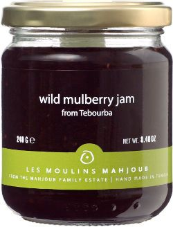 Wild Mulberry Jam by Les Moulins Mahjoub - From Tunisia