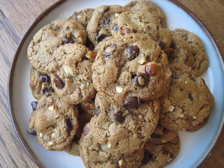 Almond Butter Chocolate Chip Cookies #recipe - TheConfidentBaker.com ...