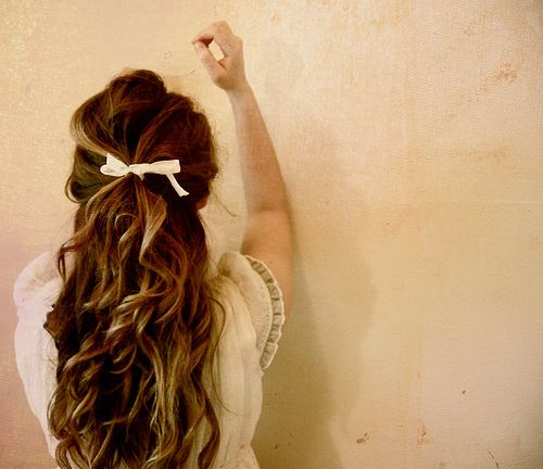 such simple beautiful hair