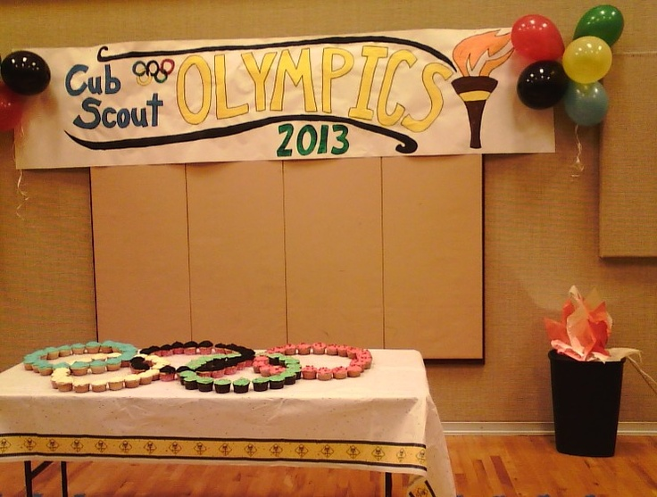 Willing Hands Needed: Cub Scouts. Olympics Blue & Gold Dinner ideas.