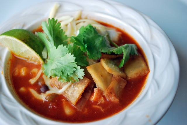 Slow Cooker Chicken Enchilada Soup   Soups, Stews & Salads   Pinterest