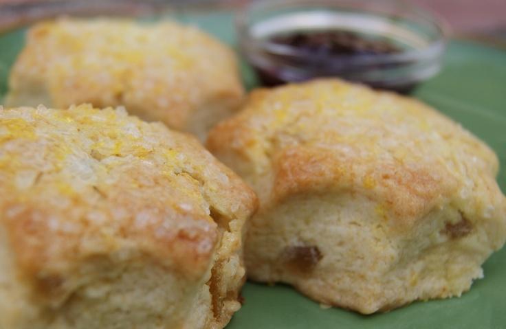 Cherry-Ginger Scones Recipes — Dishmaps