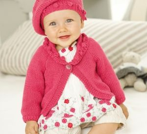 Free Crochet Pattern 70690AD Le Chic Beret : Lion Brand