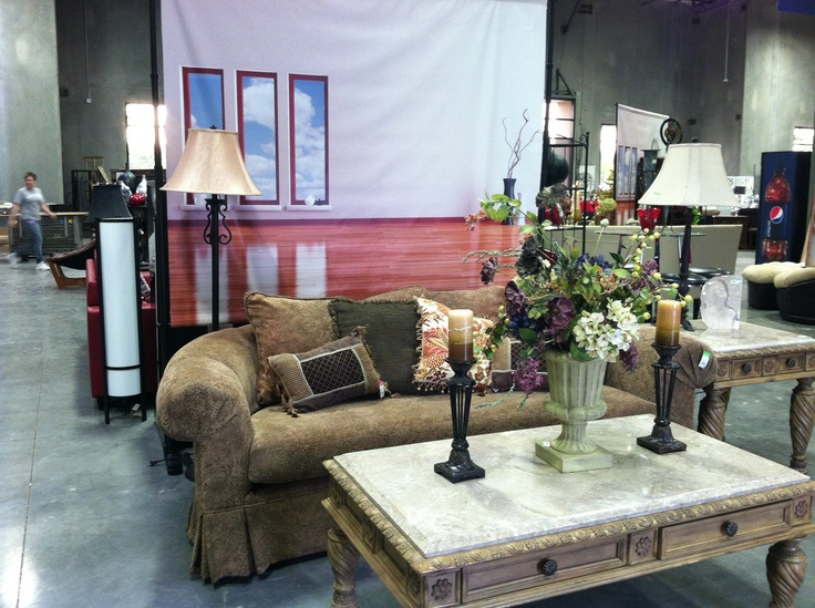 Furniture at Goodwill s 101 Redesign store