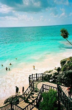 Tulum , Mexico our honeymoon spot :)