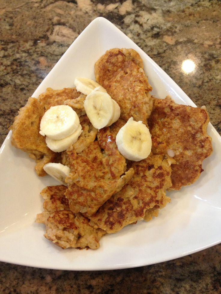 This is a great alternative to ooey gooey pancakes. 1/3 cup oats, 1/4 ...