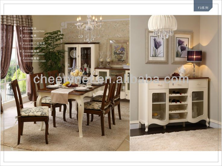 French Country Side Style Dining Room Set F3550 Buy French Provinci