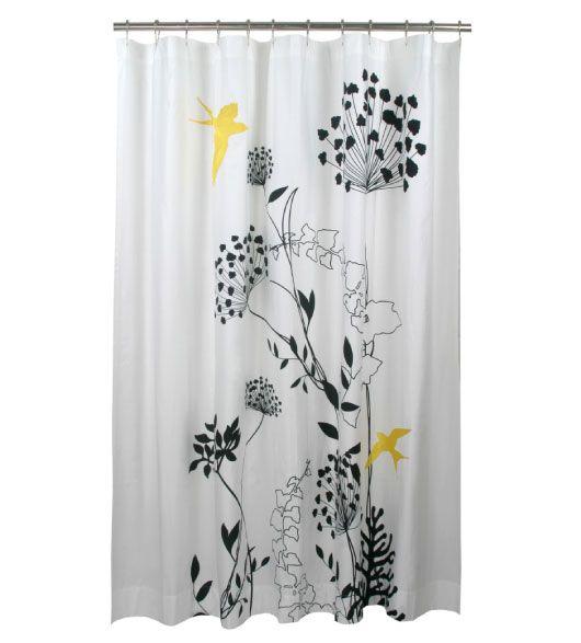 Unique Shower Curtains Purple Floral