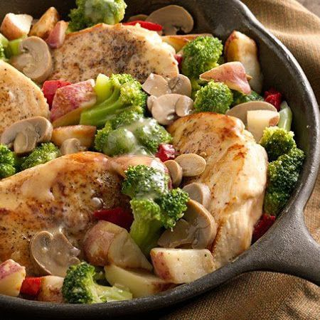 Home-Style Chicken Dinner DMR: Use white sauce balls in place of gravy ...