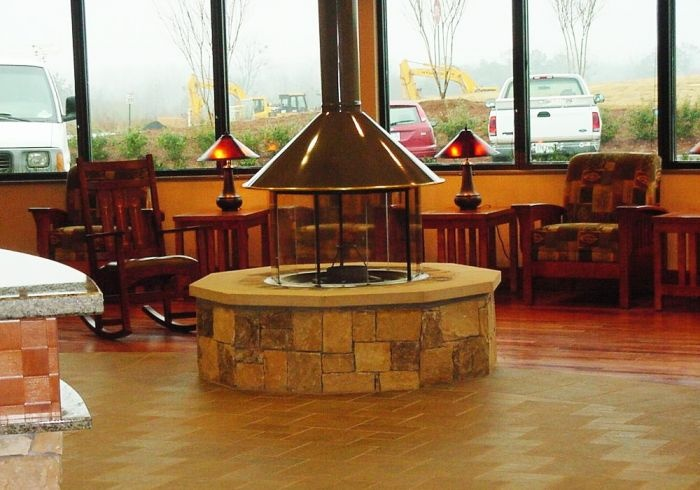 Indoor Fire Pit For The Home Pinterest