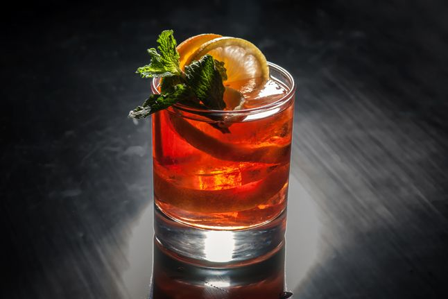 The Negroni Leoni by Michael Neff of Ward III and The Rum House, New ...