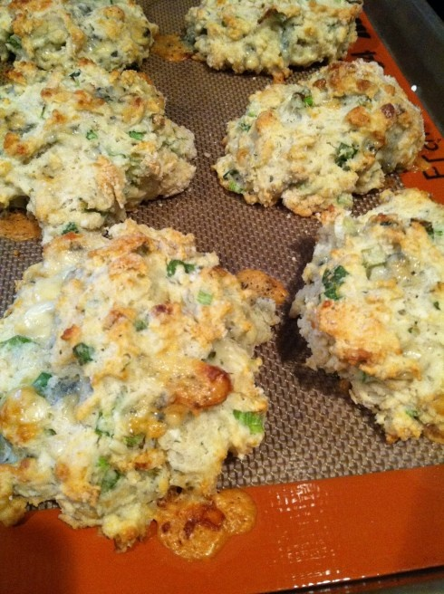 blue cheese scallion drop biscuits recipes dishmaps drop biscuits with ...