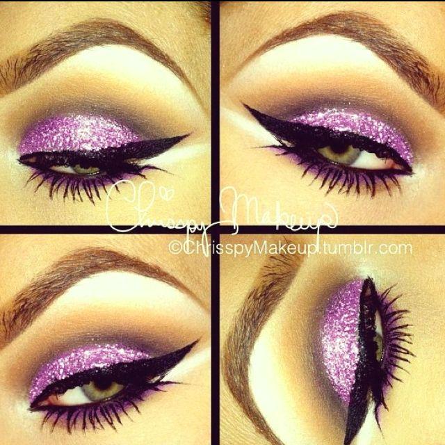 Purple Glitter!