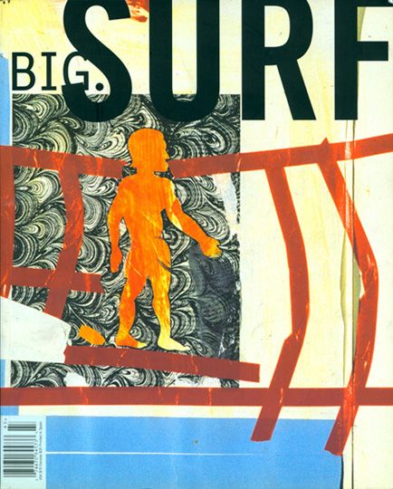 Big Magazine surf issue cover by George Bates and David Carson