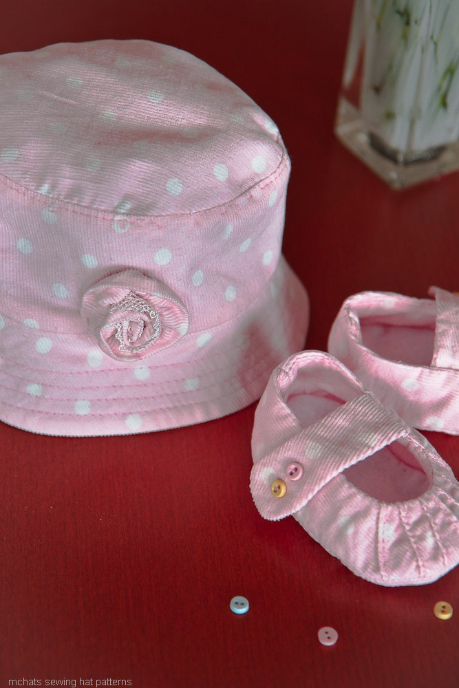 Pattern oval brim not your usual bucket hat newborn sewing hat pattern