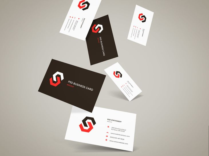Business card presentation template psd mandegarfo business card presentation template psd wajeb Gallery