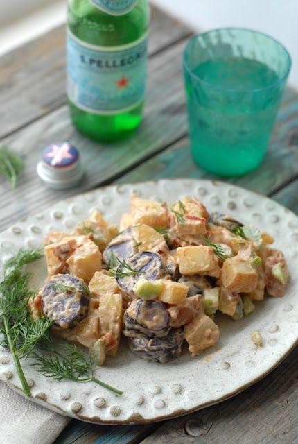 ... Local. Seasonal. Food. Drink.: Tri Color Chipotle Bacon Potato Salad